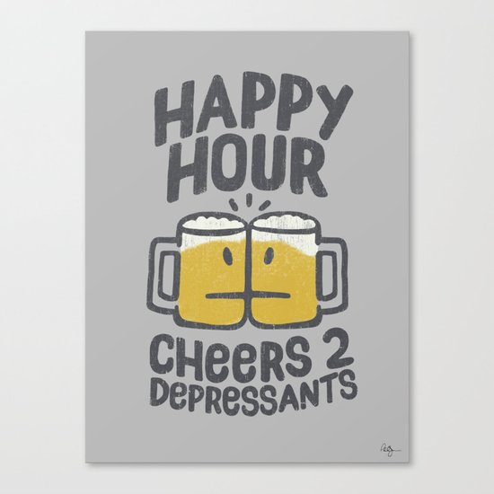 Happy Hour Canvas Print