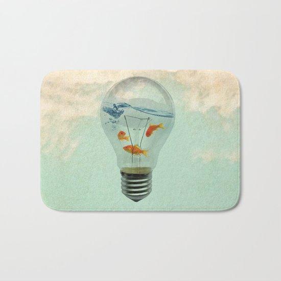 ideas and goldfish 02 Bath Mat