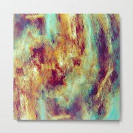 Colorful Marble Metal Print