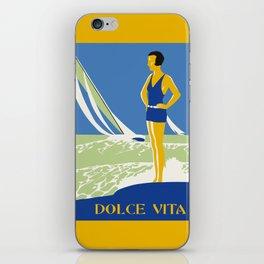 Dolce Vita Jazz Age Summer Travel iPhone Skin
