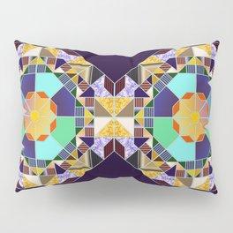 Octagonal geometric pattern abstract Pillow Sham