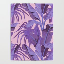 Tropical '17 - Starling [Banana Leaves] Poster
