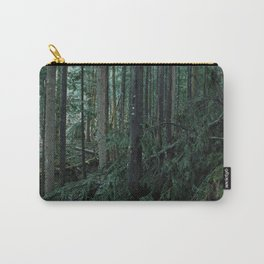 Mossy Forest, Fallen Tree Carry-All Pouch