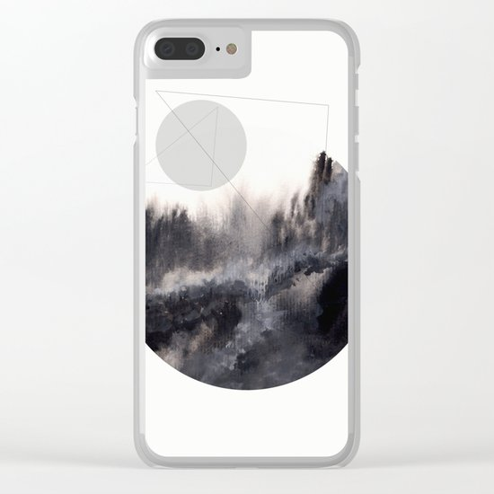 Watercolor S. 04 Clear iPhone Case