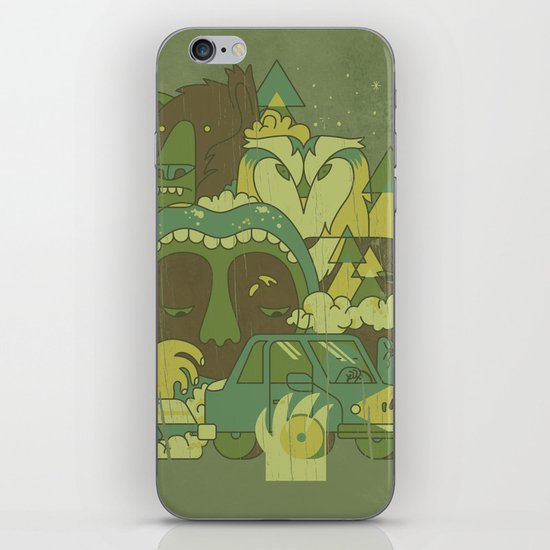 The Great Outdoors iPhone & iPod Skin
