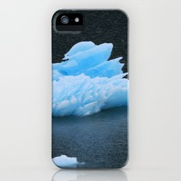 Blue Icebergs Of Alaska Glacier iPhone Case