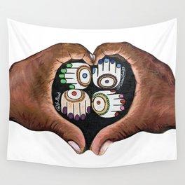 K'AL: Raise up: Black and Indigenous Lives by Musah Swallah & Frida Larios Wall Tapestry