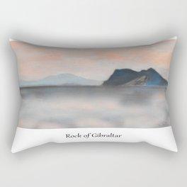 Rock of Gibraltar Rectangular Pillow