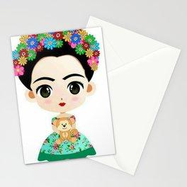 Frida Cartoon Stationery Cards