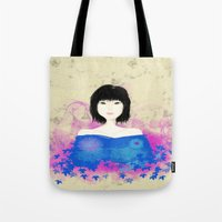 asian Tote Bags featuring ASIAN by RArkhitek