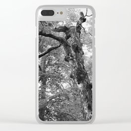 Menacing Forest Clear iPhone Case