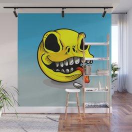 Packman Skull Wall Mural