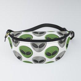 Alien Face Polka Dot Pattern Fanny Pack