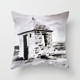 THE SHOOTING BOX Throw Pillow