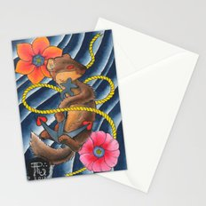 Don't Weasel Around Stationery Cards