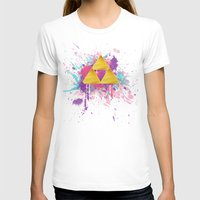 triforce T-shirts featuring Splash Triforce by Brittany