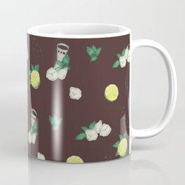 cocktail recipe pattern_cuba libre Coffee Mug