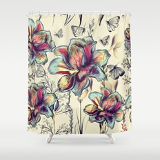 Beautiful victorian design Shower Curtain