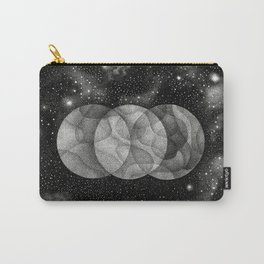 Three Moons Carry-All Pouch