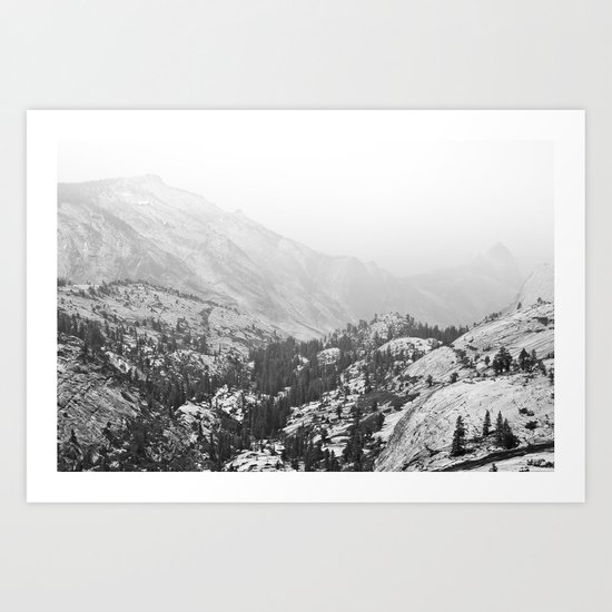 Ever On The Mountains Go Art Print