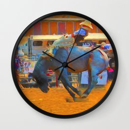 Hang Tight Wall Clock