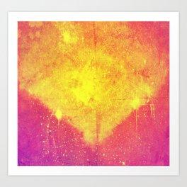 i am glowing Art Print