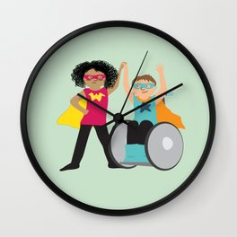 We could be heroes Wall Clock