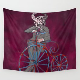 Barry Gangster Farthing - Red Wall Tapestry