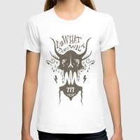 crowley T-shirts featuring Do What Thou Wilt - Aleister Crowley by Sten backman