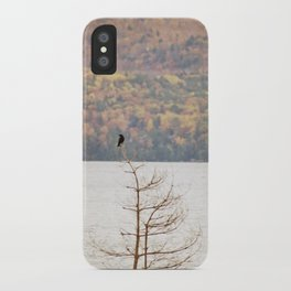 Fall Bird iPhone Case