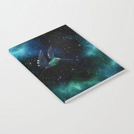 Space Hummingbird Notebook