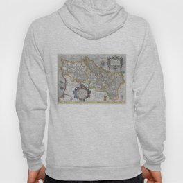 Vintage Map of Portugal (1579) Hoody