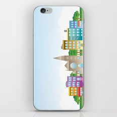 Park Slope Skyline (Color) iPhone & iPod Skin