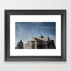 Pise Framed Art Print