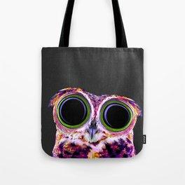 Electric Owl Tote Bag