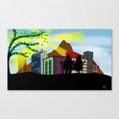 500 DAYS IN RIO Canvas Print