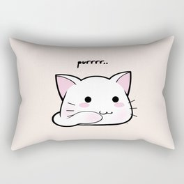 Purrring Kawaii Kitten MEOW! =(^_^)= Rectangular Pillow