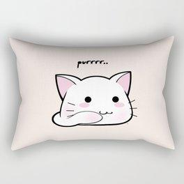 Purrring Kawaii Kitten MEOW! =(^_^)= Rectangular Pillow