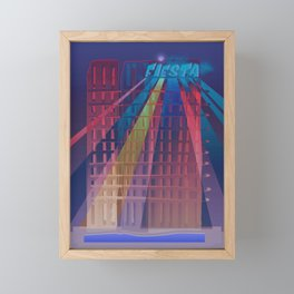 Urban Summer / Fiesta Framed Mini Art Print