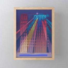 Urban Summer / Fiesta Framed Mini Art Print