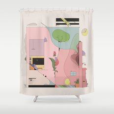 The Comfort of Your Home Shower Curtain