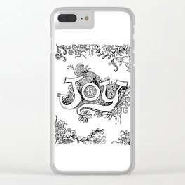 JOY Clear iPhone Case
