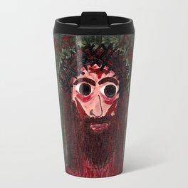 Jesus' Face Travel Mug