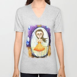 Through the Looking Glass Unisex V-Neck