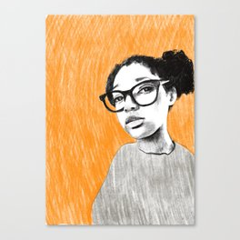 Nice new glasses Canvas Print