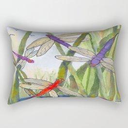 Dragonfly Summer Rectangular Pillow