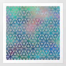 Flower of Life Variation - pattern 3 Art Print