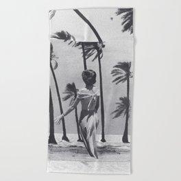 Tropical Storm Beach Towel