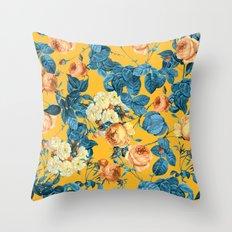 Summer Botanical II Throw Pillow