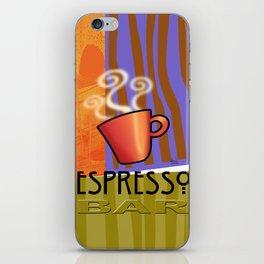 EXPRESSO BAR iPhone Skin